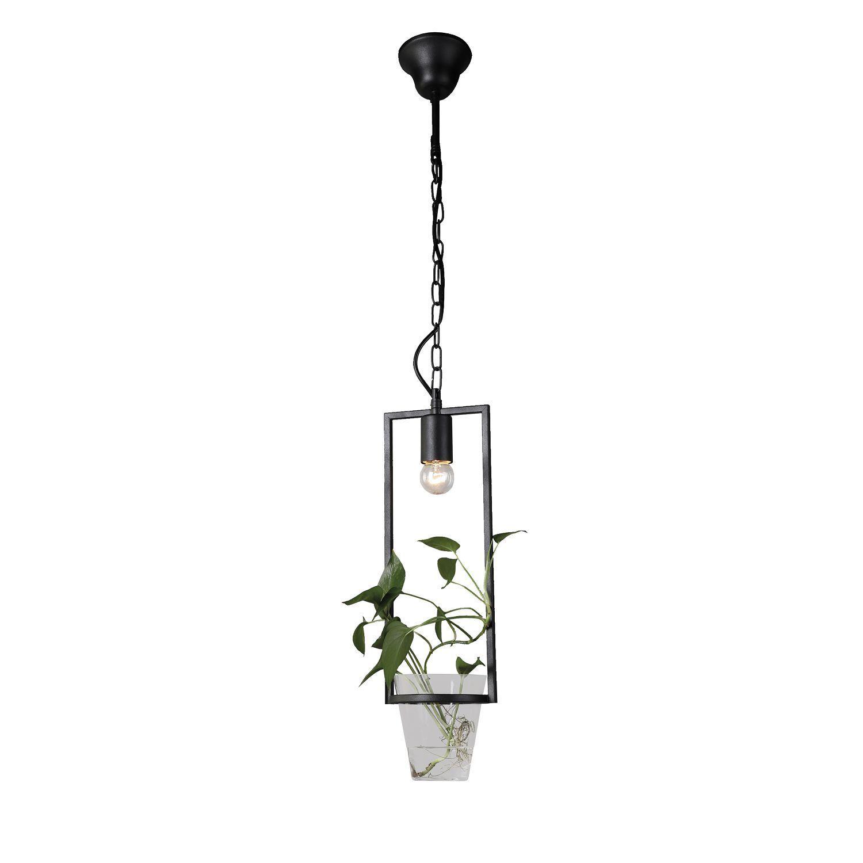 Подвесной светильник Favourite Situla 1976-1P, 1xE27x60W, черный, металл со стеклом - фото 1