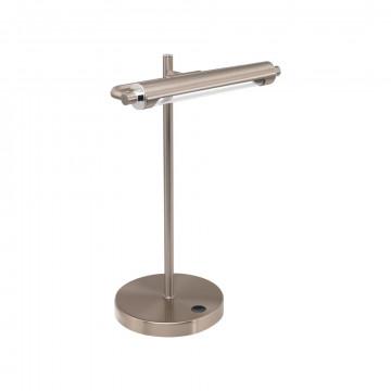 Настольная светодиодная лампа Eglo Casamarte 97913, LED 4,4W 3000K 450lm, никель, металл