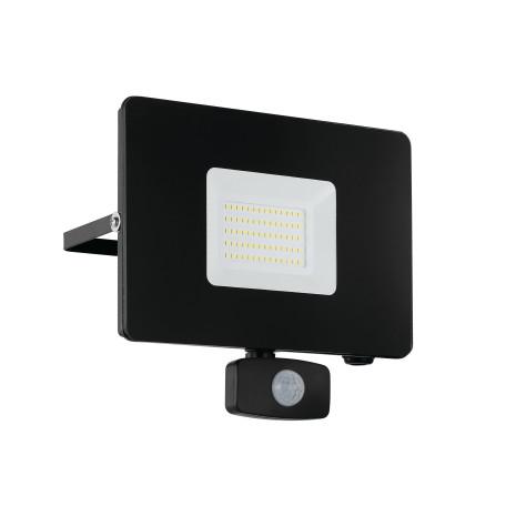 Светодиодный прожектор Eglo Faedo 3 97463, IP44, LED 50W 5000K 4800lm, черный, металл, металл со стеклом, стекло