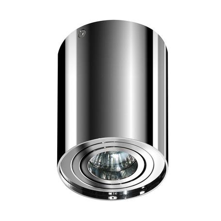 Потолочный светильник Azzardo Bross AZ0857, 1xGU10x50W, хром, металл