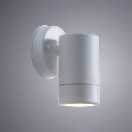 Настенный светильник Arte Lamp Atlas A3503AL-1WH, IP44, 1xGU10x7W, белый, пластик