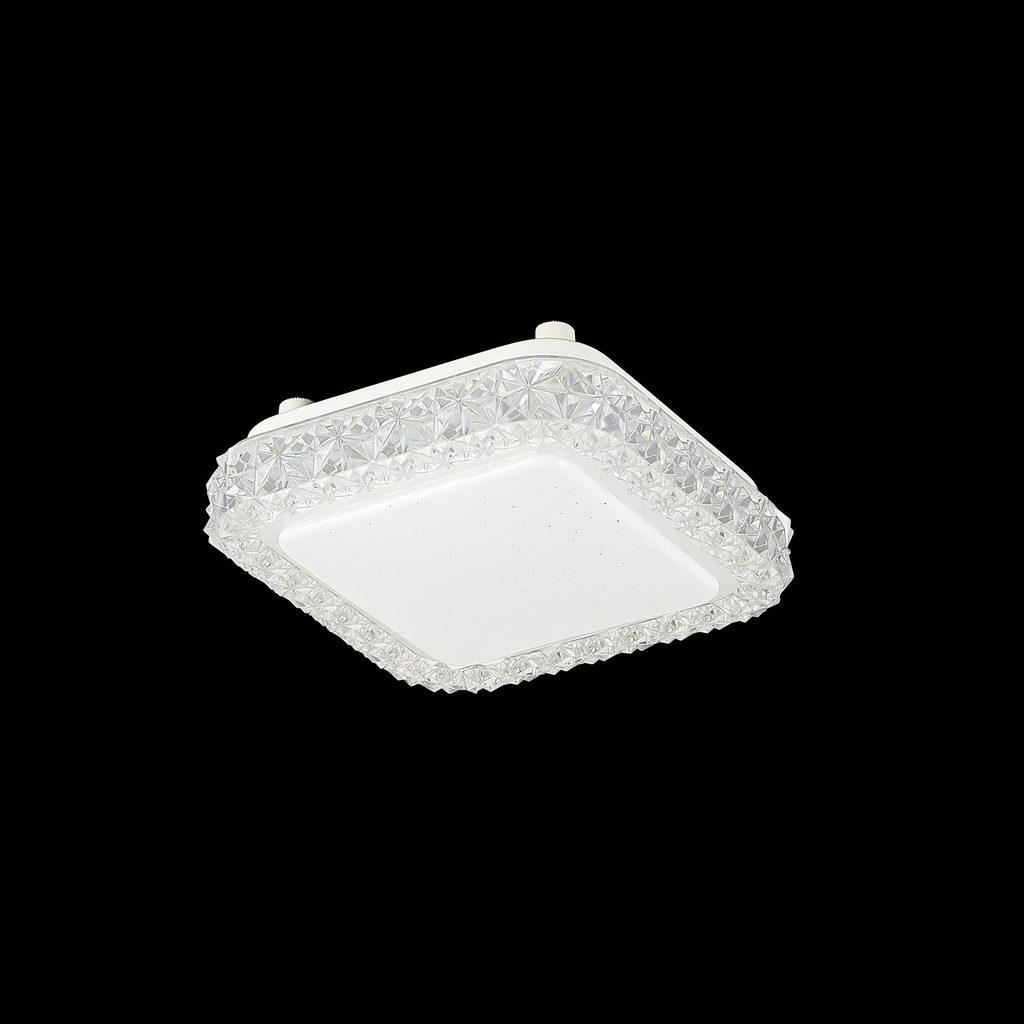 Потолочный светодиодный светильник Citilux Кристалино Слим CL715K120, LED 12W 3000K 900lm, белый, металл, пластик - фото 2
