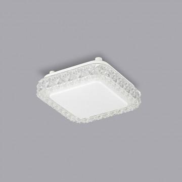 Потолочный светодиодный светильник Citilux Кристалино Слим CL715K120, LED 12W 3000K 900lm, белый, металл, пластик - миниатюра 3