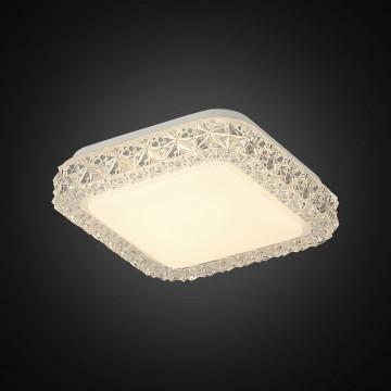Потолочный светодиодный светильник Citilux Кристалино Слим CL715K120, LED 12W 3000K 900lm, белый, металл, пластик - миниатюра 4