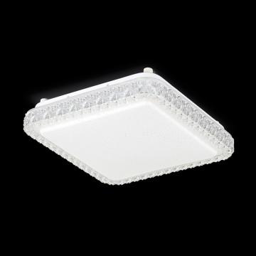 Потолочный светодиодный светильник Citilux Кристалино Слим CL715K180 3000K (теплый), белый, прозрачный, металл, пластик - миниатюра 2
