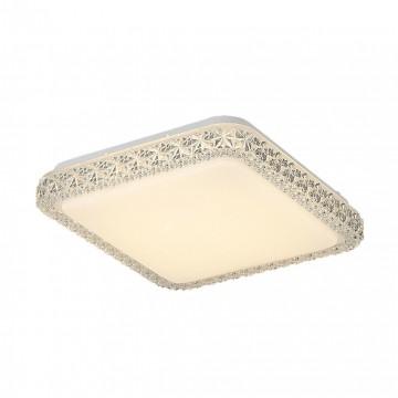 Потолочный светодиодный светильник Citilux Кристалино Слим CL715K180 3000K (теплый), белый, прозрачный, металл, пластик - миниатюра 5
