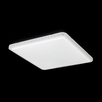 Потолочный светодиодный светильник Citilux Кристалино Слим CL715K720, LED 72W 3000K 5400lm, белый, металл, пластик - миниатюра 2