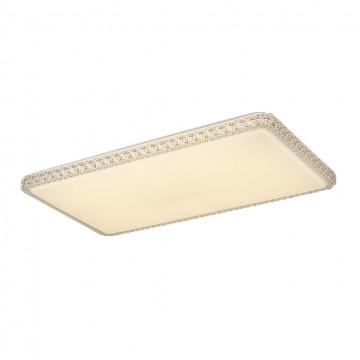 Потолочный светодиодный светильник Citilux Кристалино Слим CL715P600, 3000K (теплый), белый, прозрачный, металл, пластик - миниатюра 2