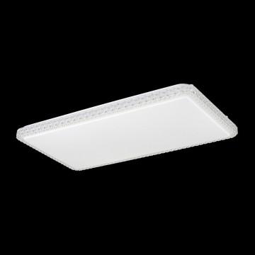 Потолочный светодиодный светильник Citilux Кристалино Слим CL715P600, 3000K (теплый), белый, прозрачный, металл, пластик - миниатюра 3