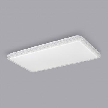Потолочный светодиодный светильник Citilux Кристалино Слим CL715P600, 3000K (теплый), белый, прозрачный, металл, пластик - миниатюра 4