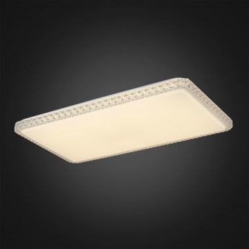 Потолочный светодиодный светильник Citilux Кристалино Слим CL715P600, 3000K (теплый), белый, прозрачный, металл, пластик - миниатюра 5