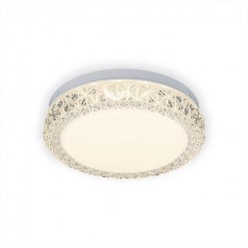 Потолочный светодиодный светильник Citilux Кристалино Слим CL715R120, белый, прозрачный, металл, пластик - миниатюра 5