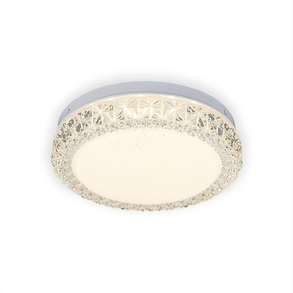 Потолочный светодиодный светильник Citilux Кристалино Слим CL715R120, белый, прозрачный, металл, пластик - фото 5
