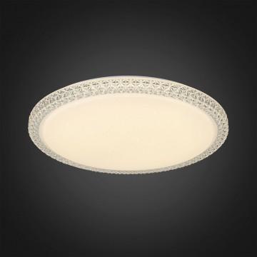 Потолочный светодиодный светильник Citilux Кристалино Слим CL715R480, LED 48W 3000K 3600lm, белый, металл, пластик - миниатюра 4