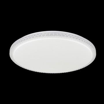 Потолочный светодиодный светильник Citilux Кристалино Слим CL715R720, LED 72W 3000K 5400lm, белый, металл, пластик - миниатюра 2