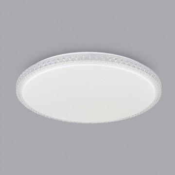 Потолочный светодиодный светильник Citilux Кристалино Слим CL715R720, LED 72W 3000K 5400lm, белый, металл, пластик - миниатюра 3