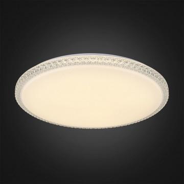 Потолочный светодиодный светильник Citilux Кристалино Слим CL715R720, LED 72W 3000K 5400lm, белый, металл, пластик - миниатюра 4