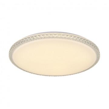 Потолочный светодиодный светильник Citilux Кристалино Слим CL715R720, LED 72W 3000K 5400lm, белый, металл, пластик - миниатюра 5