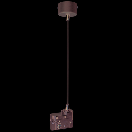 Подвесной подвод питания для шинной системы Lightstar Barra 504299, серый, металл