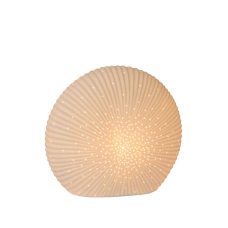 Настольная лампа Lucide Shelly 13527/26/31, 1xE14x25W, белый, керамика