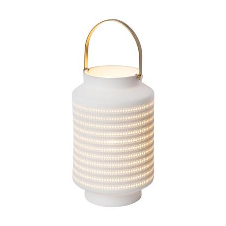 Настольная лампа Lucide Jamila 13526/01/31, 1xE14x25W, белый, керамика