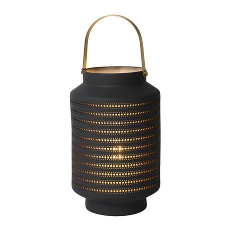 Настольная лампа Lucide Jamila 13526/01/36, 1xE14x25W, черный, керамика