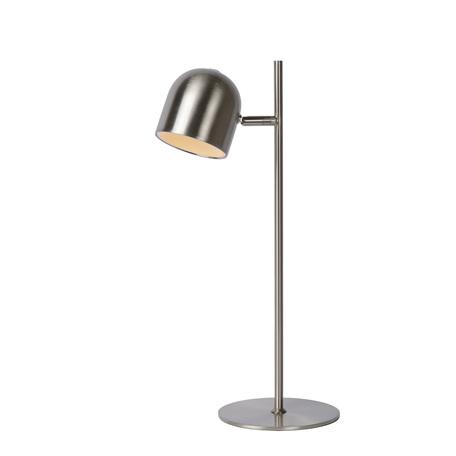 Настольная светодиодная лампа Lucide Skanska 03603/05/12, LED 5W 3000K 450lm CRI80, матовый хром, металл