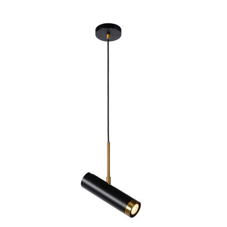 Подвесной светильник с регулировкой направления света Lucide Selin 03422/01/30, 1xGU10x35W, черный, металл