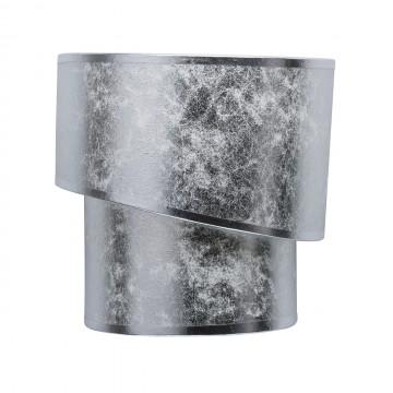 Бра MW-Light Нора 454021302, 2xE14x40W, хром, серебро, металл, текстиль