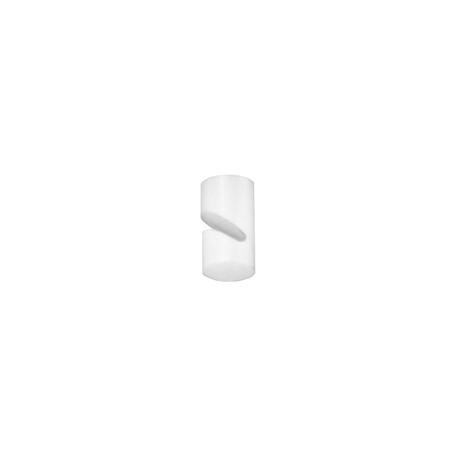 Крепление для провода Azzardo Ziko AZ3117, белый, металл