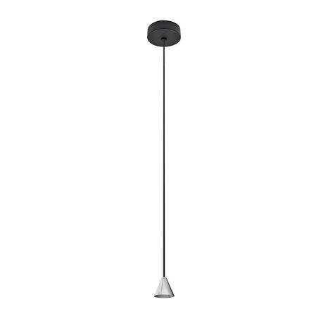 Основание подвесного светодиодный светильника Azzardo Tentor AZ3086, LED 7W 3000K 325lm, черный, металл
