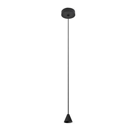 Основание подвесного светодиодный светильника Azzardo Tentor AZ3098, LED 7W 3000K 325lm, черный, металл