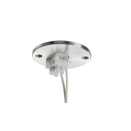 Основание потолочного светильника Azzardo Erebus AZ3389, 1xGU10x35W, серебро, металл