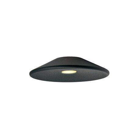 Плафон Azzardo Tentor Disc AZ3087, черный, металл