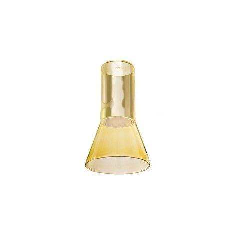 Плафон Azzardo Ziko Glass AZ3413, желтый, стекло