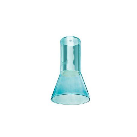 Плафон Azzardo Ziko Glass AZ3414, голубой, стекло