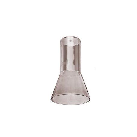 Плафон Azzardo Ziko Glass AZ3415, дымчатый, стекло