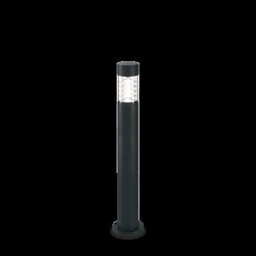 Светильник Ideal Lux Dema PT 248202, IP54, R7Sx60W, черный, прозрачный, металл, стекло