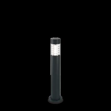Светильник Ideal Lux Dema PT 248226, IP54, R7Sx60W, черный, прозрачный, металл, стекло