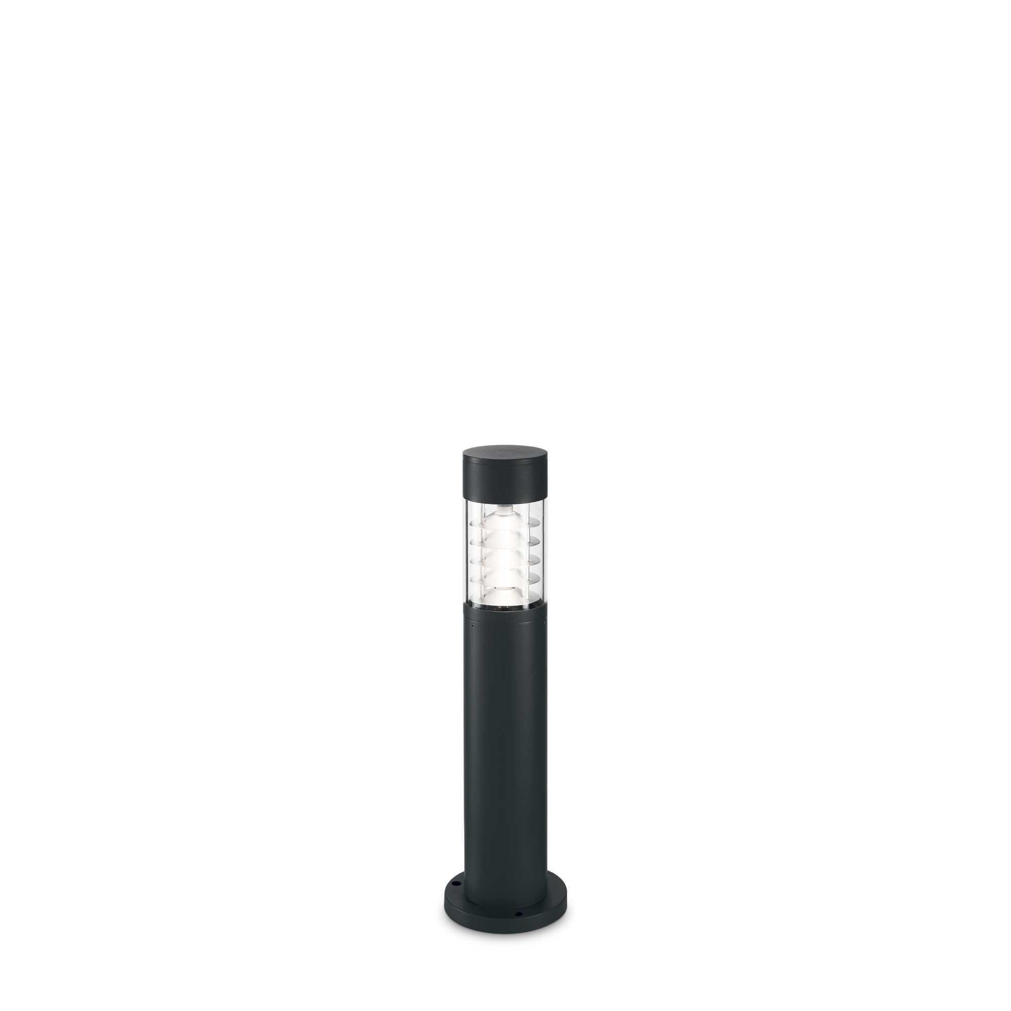 Светильник Ideal Lux Dema PT 248240, IP54, R7Sx60W, черный, прозрачный, металл, стекло - фото 1