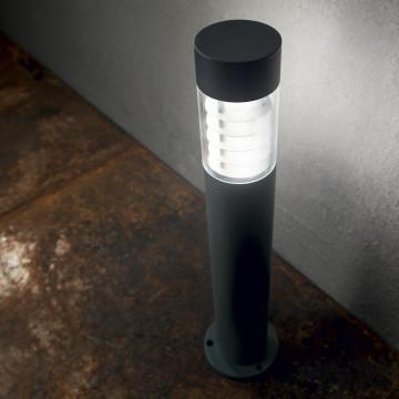 Светильник Ideal Lux Dema PT 248240, IP54, R7Sx60W, черный, прозрачный, металл, стекло - миниатюра 3