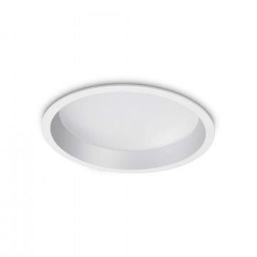 Светодиодный светильник Ideal Lux Deep 248790, LED 30W, белый, металл