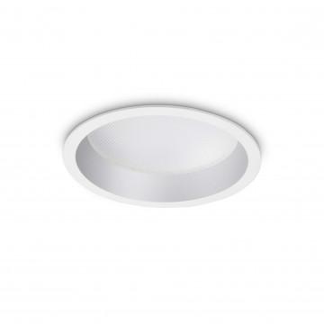 Светодиодный светильник Ideal Lux Deep 249049, LED 20W, белый, металл