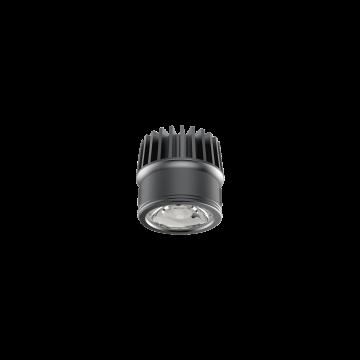 Светодиодный светильник Ideal Lux Dynamic Source 252995, IP54, LED 9W, черный, металл