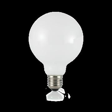 Филаментная светодиодная лампа Ideal Lux LAMPADINA CLASSIC E27 8W GLOBO D95 BIANCO 3000K 101330 G95 E27 8W 3000K (теплый) 240V, недиммируемая/недиммируемая