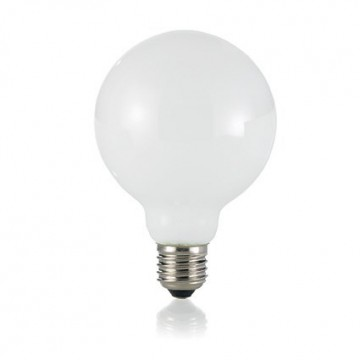 Филаментная светодиодная лампа Ideal Lux LED Classic LAMPADINA CLASSIC E27 8W GLOBO D95 BIANCO 101330 G95 E27 8W 720lm 3000K (теплый) 240V, недиммируемая