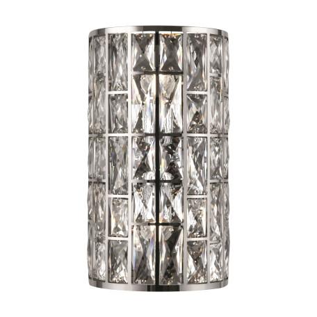 Бра Maytoni Modern Gelid MOD184-WL-02-CH, 2xG9x40W, хром, прозрачный, стекло