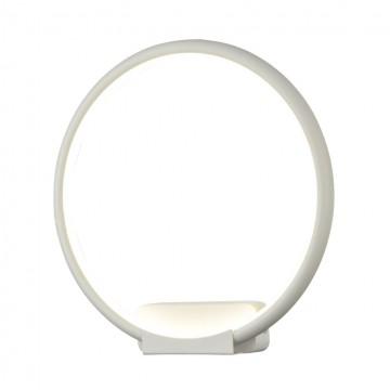 Настенный светодиодный светильник Maytoni Nola MOD807-WL-01-18-W, LED 18W 4100K 1000lm CRI80, белый, металл, металл с пластиком, пластик