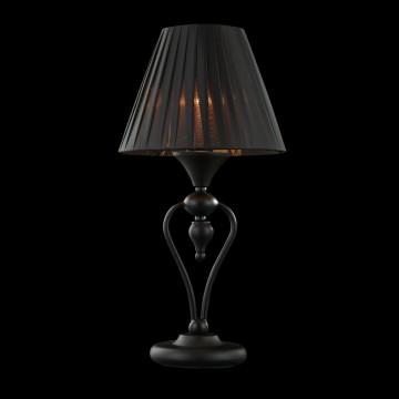 Настольная лампа Maytoni Majorca MOD981-TL-01-B, 1xE14x40W, черный, металл с пластиком, текстиль - миниатюра 3