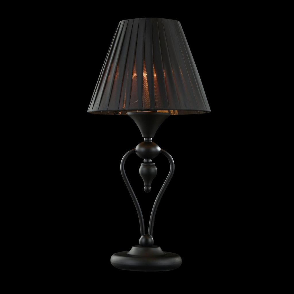 Настольная лампа Maytoni Majorca MOD981-TL-01-B, 1xE14x40W, черный, металл с пластиком, текстиль - фото 3